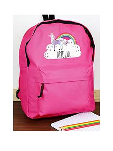 the-personalised-memento-company-personalised-unicorn-backpack