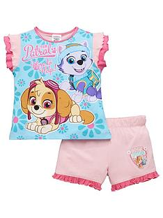 paw-patrol-girls-shorty-pyjamas