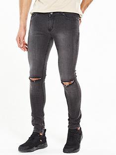 criminal-damage-super-skinny-ripped-jean