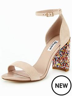 dune-millions-hundreds-and-thousands-heel-sandal-blush