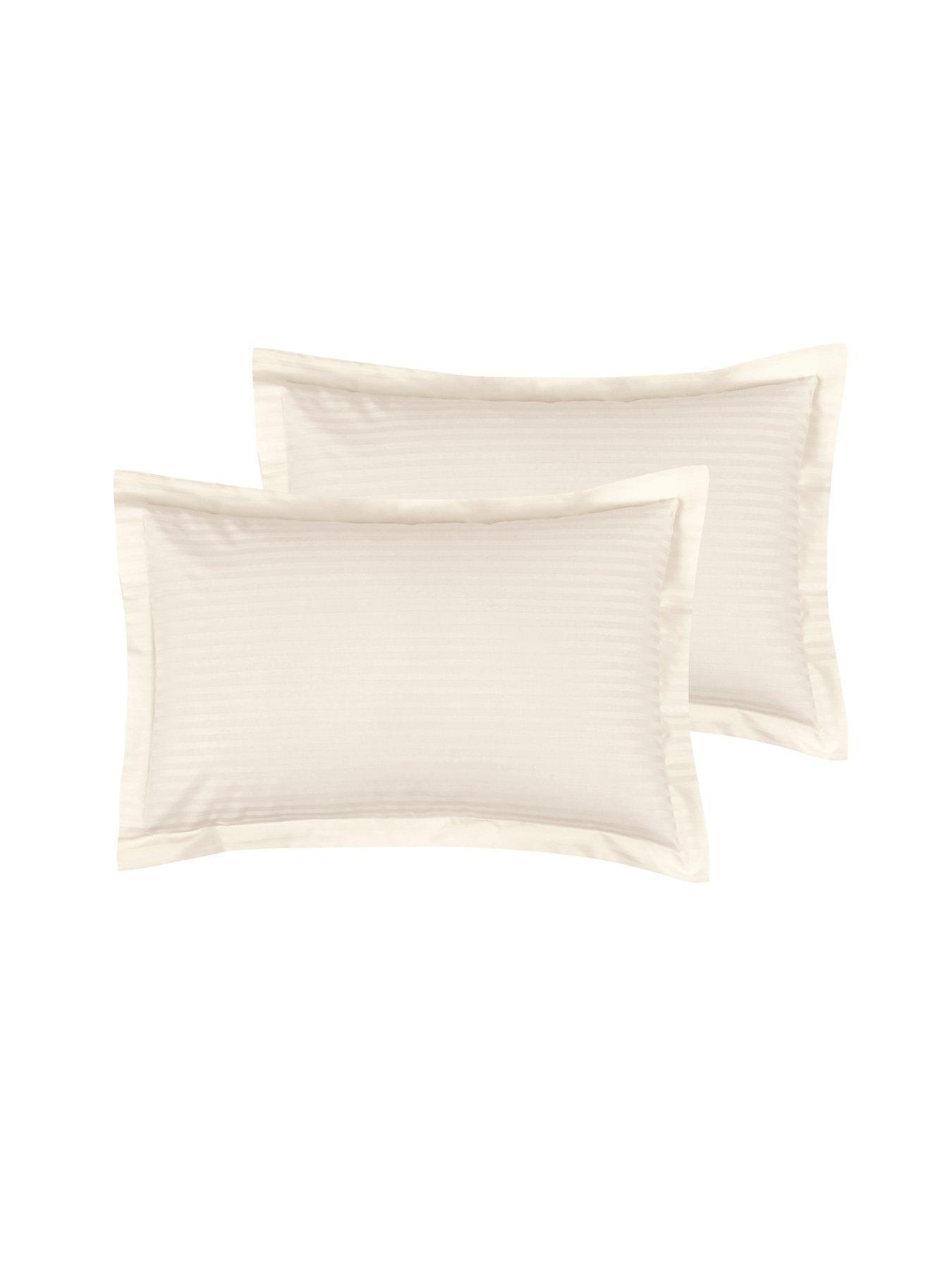 Harmony Lane Sateen Stripe 300 Thread Count 100 Cotton Pillowcase