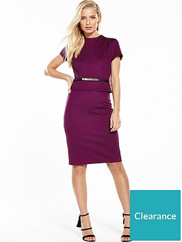 phase-eight-darcy-belted-dress-garnet