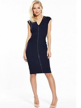 phase-eight-bonnie-zip-dress-navy
