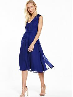 phase-eight-tianna-plain-dress-cobalt