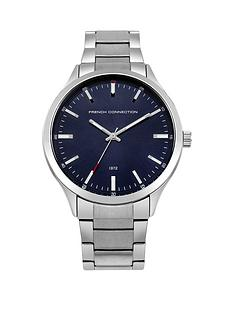 french-connection-french-connection-blue-sunray-dial-stainless-steel-bracelet-mens-watch