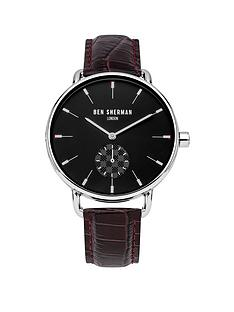 ben-sherman-black-dial-sub-second-dial-brown-croc-leather-strap-mens-watch