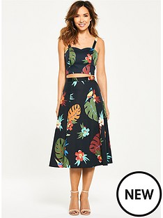 myleene-klass-tropical-mid-length-skirt
