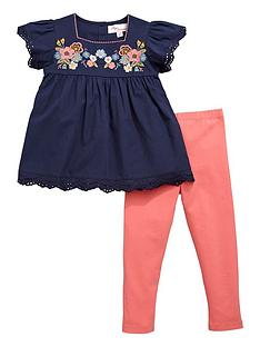 mini-v-by-very-girls-woven-floral-embroidered-top-and-leggings-set