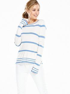 vila-viheleninbsplong-sleeve-stripe-knit-top-cloud-dancer