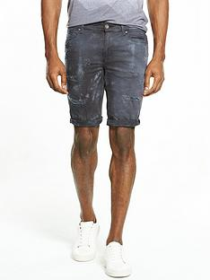 river-island-tie-dye-skinny-fit-denim-shorts