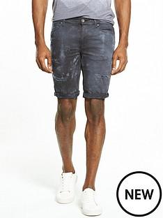 river-island-tie-dye-skinny-fit-denim-shorts