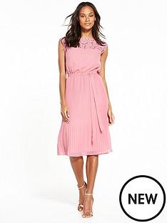 v-by-very-lace-yoke-pleated-dress