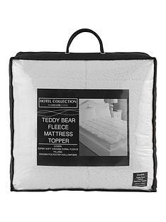 hotel-collection-supersoft-luxury-fleece-deep-5cm-mattress-topper
