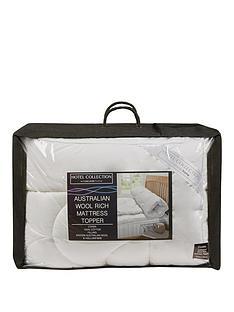 hotel-collection-australian-wool-rich-mattress-topper