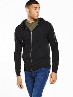 river-island-zip-thru-hooded-top