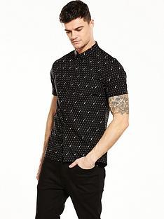 river-island-short-sleeve-guitar-print-shirt