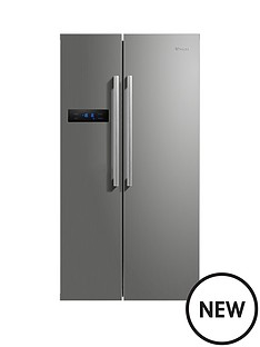 swan-sr70120s-90cm-american-style-double-door-fridge-freezer--nbspnext-day-delivery-silver