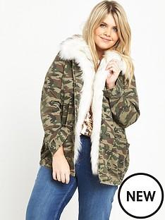 ri-plus-faux-fur-collar-camo-jacket
