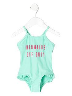river-island-mini-mini-girls-green-039mermaid039-print-swimsuit