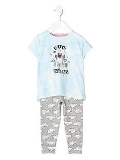 river-island-girls-blue-039pug-dreams039-pyjama-set