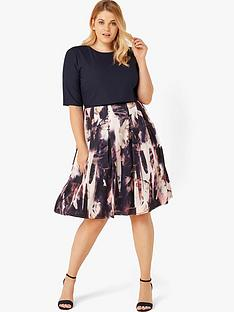 little-mistress-curve-floral-skirt-prom-dress