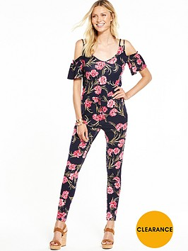 v-by-very-petite-petite-cold-shoulder-tie-waist-jumpsuit