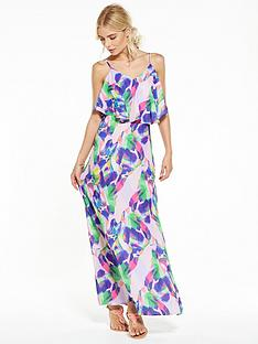 v-by-very-leaf-print-beach-maxi-dress
