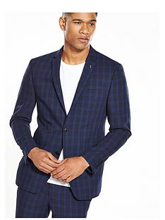 river-island-skinny-check-suit-jacket