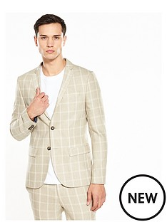 river-island-check-skinny-fit-suit-jacket