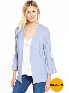 v-by-very-fluted-tie-sleeve-jacket