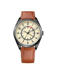 tommy-hilfiger-tommy-hilfiger-dylan-cream-dial-tan-leather-strap-mens-watch