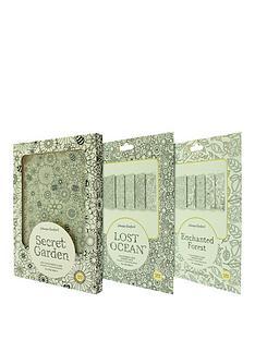 johanna-basford-johanna-basford-diy-colouring-case-for-ipad-air-2-amp-pro-97-secret-garden-lost-ocean-and-enchanted-forest-inserts