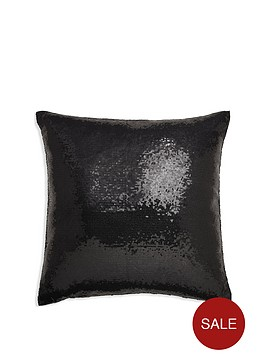 arthouse-glitz-black-cushion