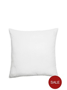 arthouse-glitz-ice-white-cushion