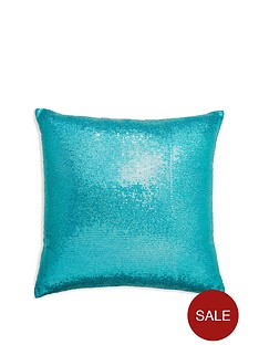arthouse-glitz-teal-cushion