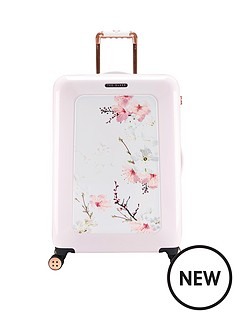 ted-baker-oriental-blossom-4-wheel-medium-case