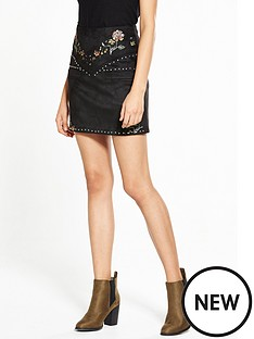 river-island-western-mini-skirt