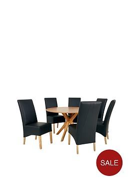 starburst-119-cm-oak-veneer-circular-dining-table-6-eternity-chairs