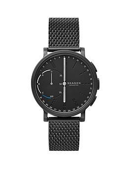 skagen-skagen-connected-hagen-hybrid-black-dial-black-mesh-smart-watch