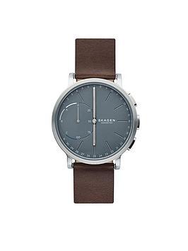 skagen-connected-hagen-hybrid-grey-dial-tan-leather-strap-smart-watch