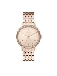 dkny-dkny-minetta-rose-tone-dial-stone-bezel-rose-tone-bracelet-ladies-watch