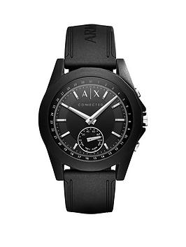 armani-exchange-connected-black-dial-black-silicone-smart-watch