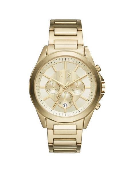 armani-exchange-gold-tone-multi-dial-gold-tone-bracelet-mens-watch