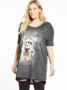 religion-curve-stand-out-tee-dress