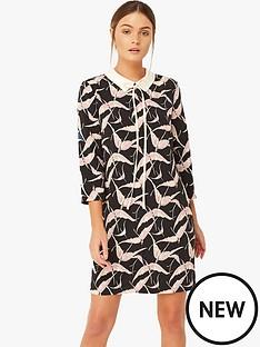 girls-on-film-bird-print-tunic-dress