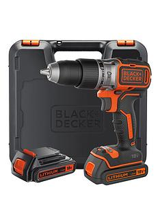 black-decker-black-amp-decker-b188k-gb-18v-lithium-ion-brushless-combi-hammer-drill-x2-batteries
