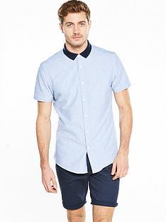 v-by-very-short-sleeve-contrast-collar-shirt