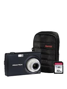 praktica-luxmedia-z250-black-camera-kit-inc-32gb-sdhc-class-10-card-amp-case