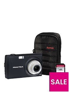praktica-luxmedia-z250-black-camera-kit-includingnbsp32gbnbspsdhc-class-10-card-andnbspcase