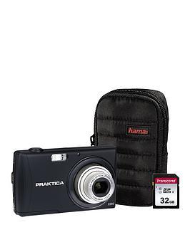 praktica-luxmedia-z250-black-camera-kit-includingnbsp32gbnbspsdhc-class-10-card-andnbspcase